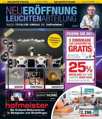 Hofmeister Prospekt (bis einschl. 21-01)