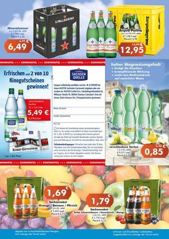 Getränke Huster Prospekt (bis einschl. 25-01)
