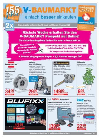 V Baumarkt Prospekt (bis einschl. 22-01)