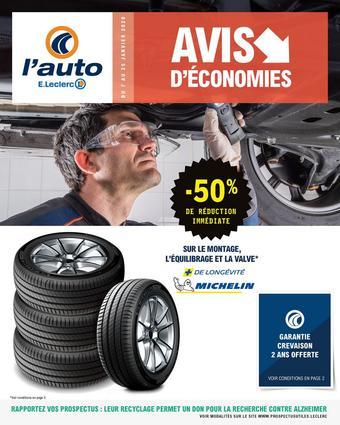 E.Leclerc L'Auto catalogue publicitaire (valable jusqu'au 25-01)
