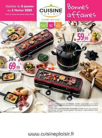 Cuisine Plaisir catalogue publicitaire (valable jusqu'au 02-02)