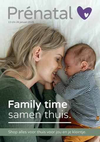 Prenatal reclame folder (geldig t/m 26-01)
