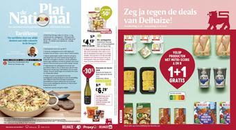 Shop & Go Delhaize reclame folder (geldig t/m 22-01)