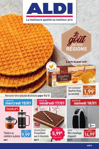 ALDI catalogue publicitaire (valable jusqu'au 19-01)