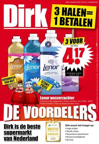 Dirk reclame folder (geldig t/m 18-01)