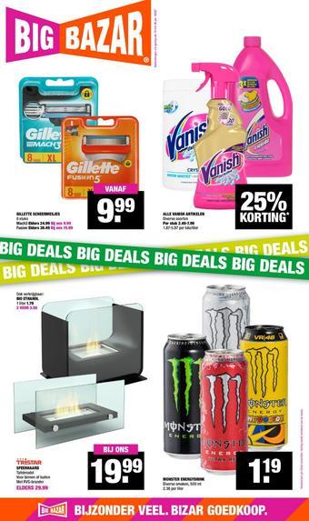 Big Bazar reclame folder (geldig t/m 26-01)
