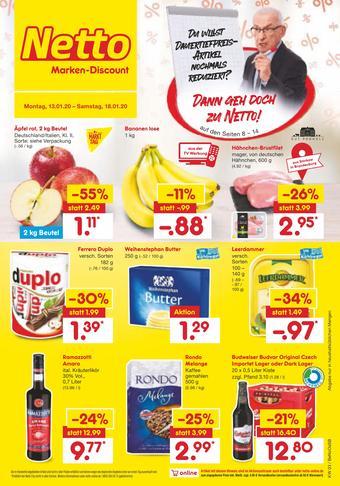 Netto Marken-Discount Prospekt (bis einschl. 18-01)