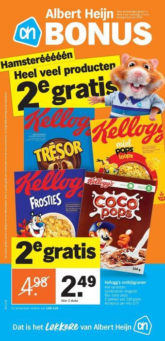 Albert Heijn reclame folder (geldig t/m 19-01)