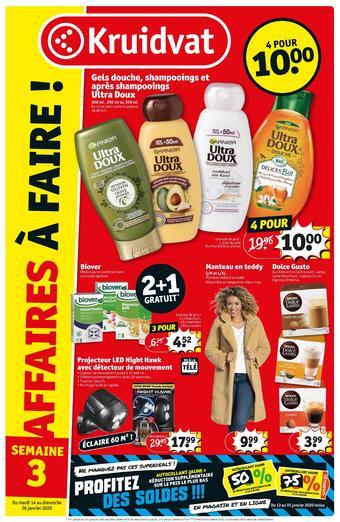 Kruidvat catalogue publicitaire (valable jusqu'au 26-01)