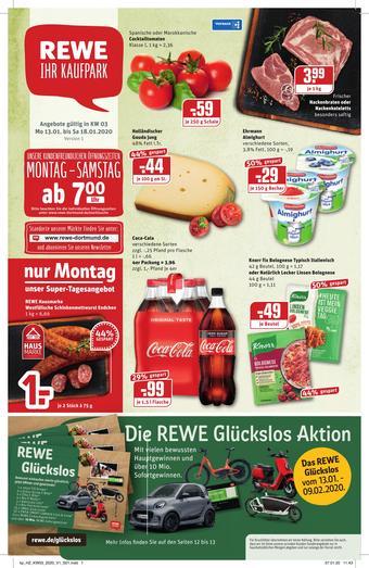 REWE Kaufpark Prospekt (bis einschl. 18-01)