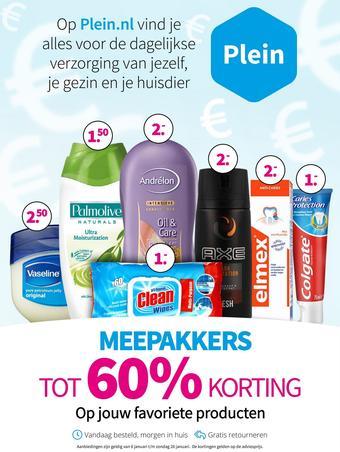 Plein.nl reclame folder (geldig t/m 26-01)