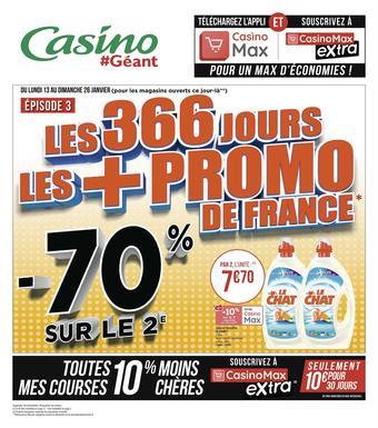 Géant Casino catalogue publicitaire (valable jusqu'au 26-01)