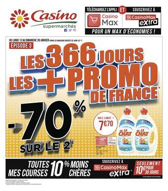 Casino Supermarchés catalogue publicitaire (valable jusqu'au 26-01)