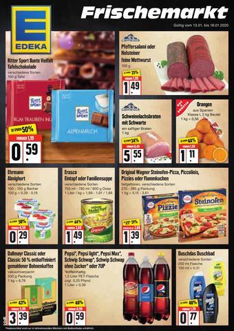 Edeka Frischemarkt Prospekt (bis einschl. 18-01)