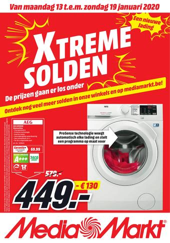 MediaMarkt reclame folder (geldig t/m 19-01)