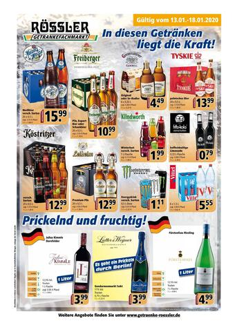 Getränke Rössler Prospekt (bis einschl. 18-01)