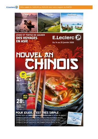 E.Leclerc catalogue publicitaire (valable jusqu'au 25-01)