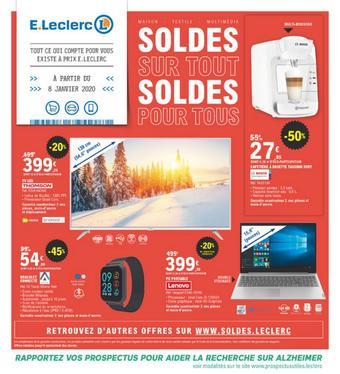 E.Leclerc catalogue publicitaire (valable jusqu'au 04-02)