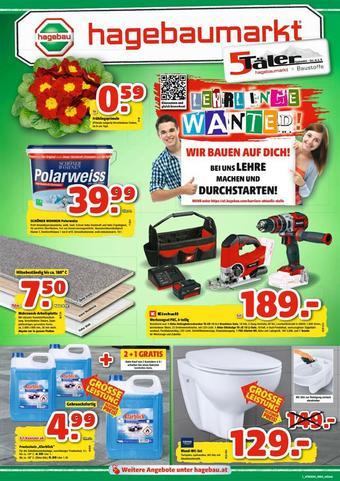 Hagebau Werbeflugblatt (bis einschl. 01-02)
