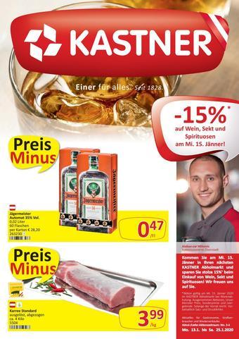 Kastner Werbeflugblatt (bis einschl. 25-01)