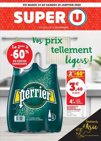Super U catalogue publicitaire (valable jusqu'au 25-01)