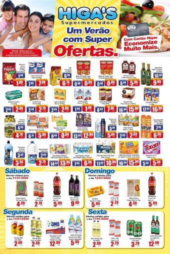Higa's Supermercado catálogo promocional (válido de 10 até 17 24-01)