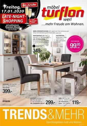 Möbel Turflon Prospekt (bis einschl. 21-01)
