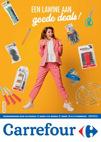 Carrefour reclame folder (geldig t/m 27-01)