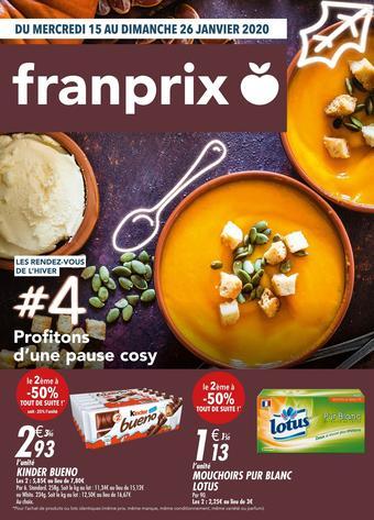 Franprix catalogue publicitaire (valable jusqu'au 26-01)