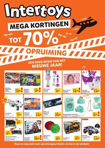 Intertoys reclame folder (geldig t/m 19-01)