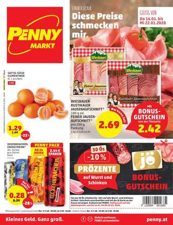PENNY Werbeflugblatt (bis einschl. 22-01)
