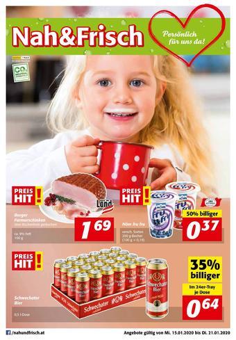 Nah & Frisch Werbeflugblatt (bis einschl. 21-01)