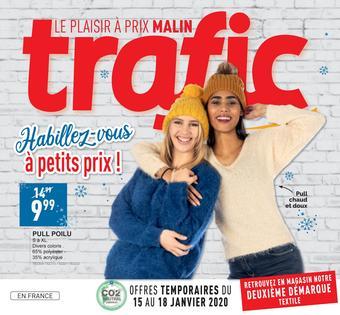 Trafic catalogue publicitaire (valable jusqu'au 20-01)