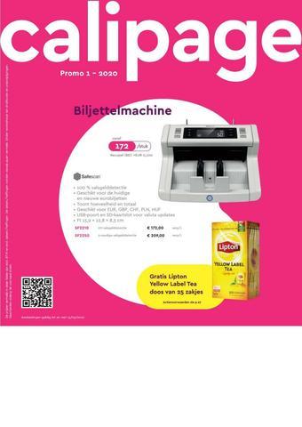Calipage reclame folder (geldig t/m 15-03)