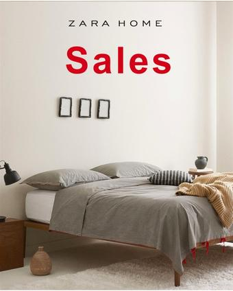 Zara Home catalogue publicitaire (valable jusqu'au 27-01)
