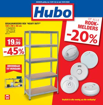 Hubo reclame folder (geldig t/m 19-01)