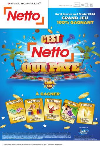 Netto catalogue publicitaire (valable jusqu'au 19-01)