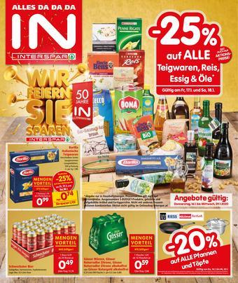Interspar Werbeflugblatt (bis einschl. 29-01)