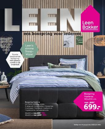 Leen Bakker reclame folder (geldig t/m 02-02)
