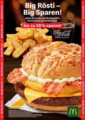 McDonald's Prospekt (bis einschl. 31-01)