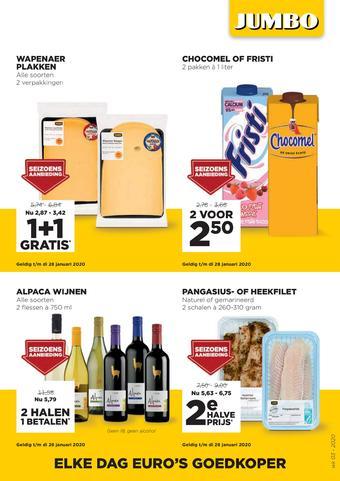 Jumbo Foodmarkt reclame folder (geldig t/m 21-01)