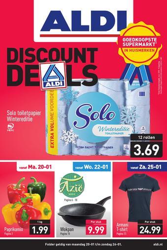 ALDI reclame folder (geldig t/m 26-01)
