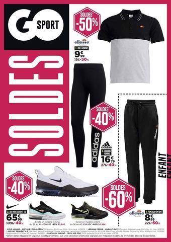 Go Sport catalogue publicitaire (valable jusqu'au 04-02)