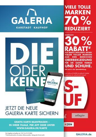 Galeria Kaufhof Prospekt (bis einschl. 21-01)