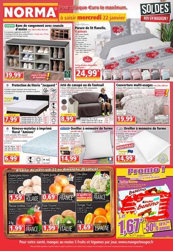 Norma catalogue publicitaire (valable jusqu'au 28-01)