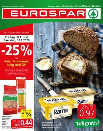 Eurospar Werbeflugblatt (bis einschl. 29-01)