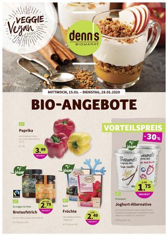 denn's Biomarkt Prospekt (bis einschl. 28-01)
