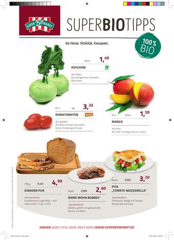 Superbiomarkt Prospekt (bis einschl. 28-01)