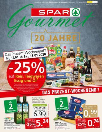 SPAR-Gourmet Werbeflugblatt (bis einschl. 29-01)