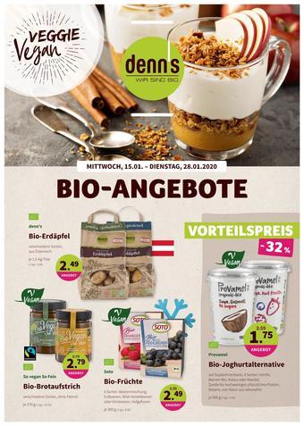 Denn's Biomarkt Werbeflugblatt (bis einschl. 28-01)